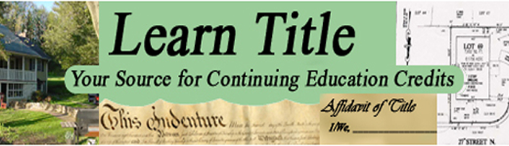 New Jersey Title Insurance Continuing Education